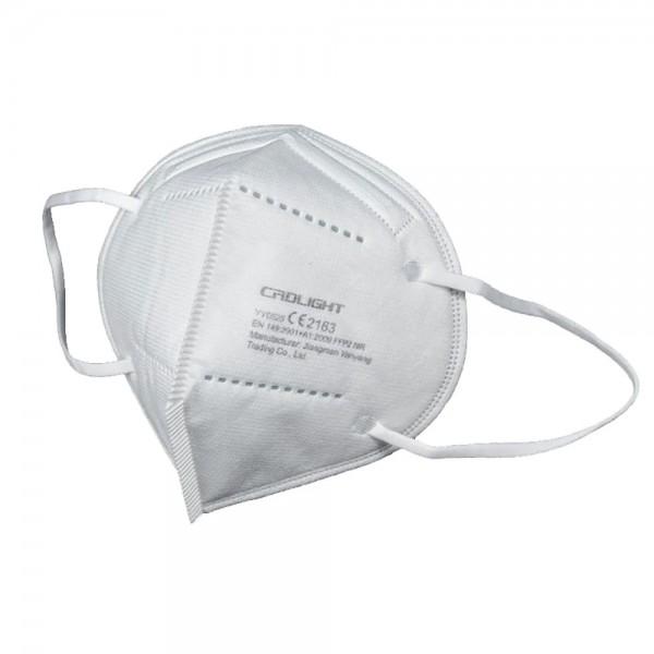25er Set - FFP2 Masken - CRDlight - weiß/pink/schwarz - CE2163