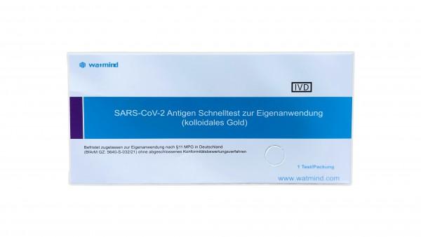 watmind - SARS-CoV-2 Antigen Schnelltest (kollodiales Gold)