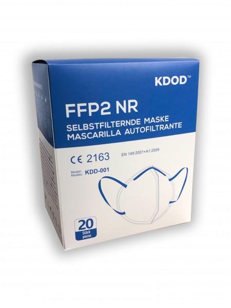 20er Set - FFP2 Masken - KDOD - CE2163